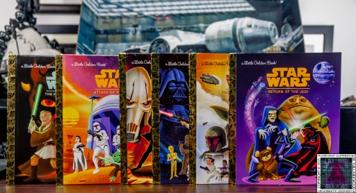 Star Wars Little Golden Book Set (4)