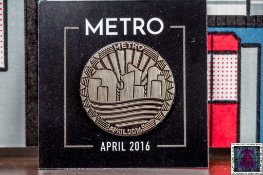 Loot Gaming April 2016 Metro Pin