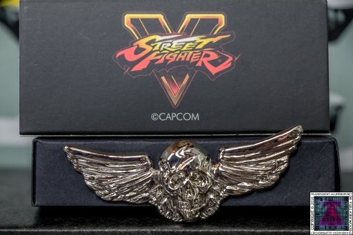 Street Fighter Shadaloo Pin