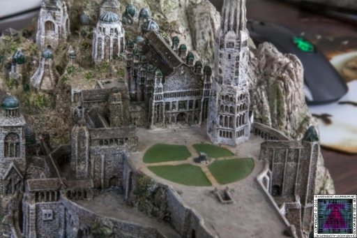 Minas Tirith The Great Citadel Of Gondor Weta (15)