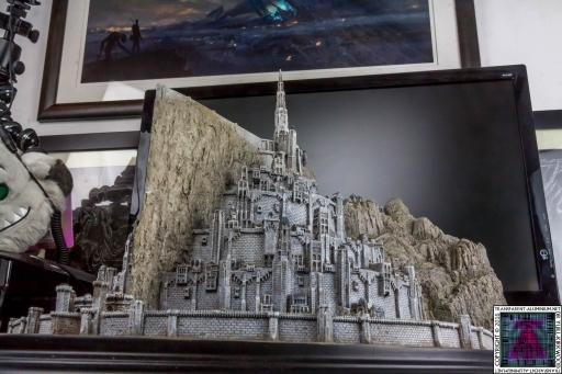 Minas Tirith The Great Citadel Of Gondor Weta (18)