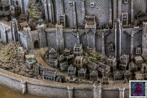 Minas Tirith The Great Citadel Of Gondor Weta (3)