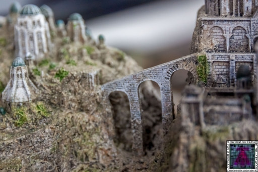 Minas Tirith The Great Citadel Of Gondor Weta (6)