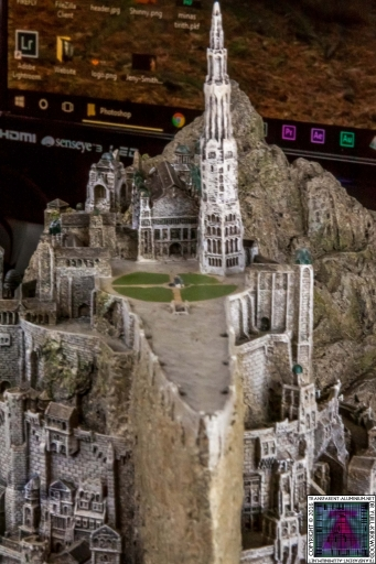 Minas Tirith The Great Citadel Of Gondor Weta (8)