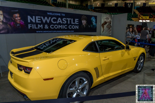 Bumble Bee at Newcastle Film and Comic Con 2014