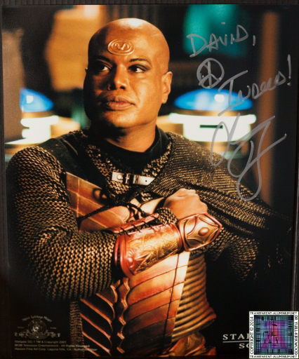 Chris Judge Autograph