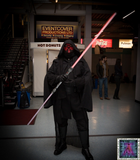 Darth Maul at Newcastle Film and Comic Con 2014