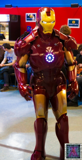 Iron Man at Newcastle Film and Comic Con 2014