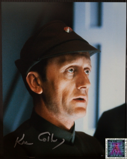 Kenneth Colley Autograph