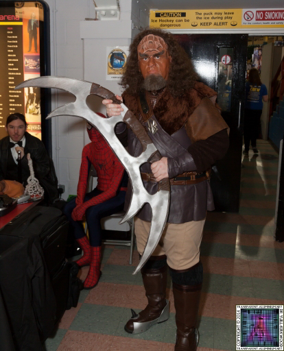 Klingons at Newcastle Film and Comic Con 2014