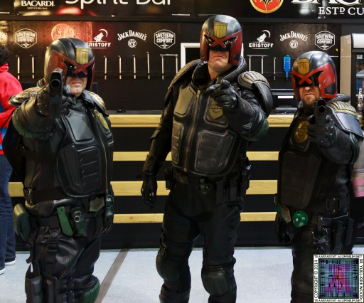 The Judges at Newcastle Film and Comic Con 2014