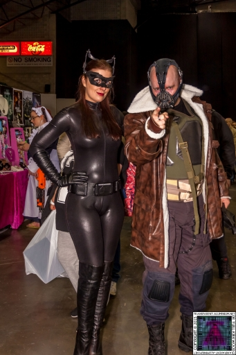 Comic-Con Cosplay Bane and Cat Woman.jpg