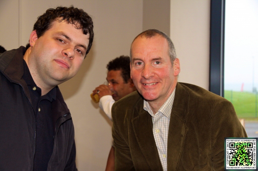 Me And Chris Barrie