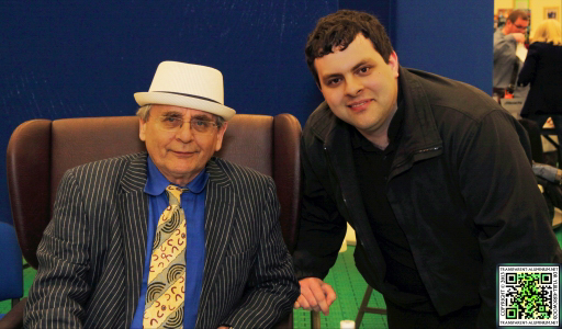 Me with Sylvester McCoy