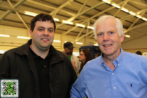 Me with Jeremy Bulloch