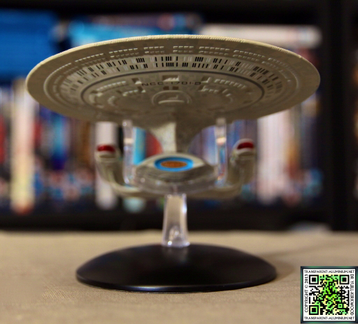 Star Trek Starship Collection Magazine Enterprise D 01