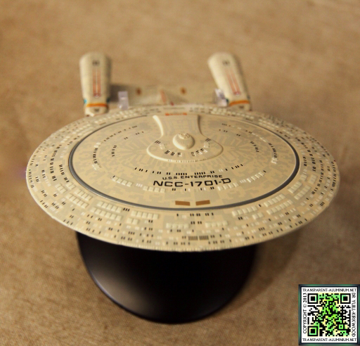 Star Trek Starship Collection Magazine Enterprise D 04
