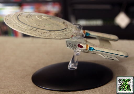 Star Trek Starship Collection Magazine Enterprise D 05