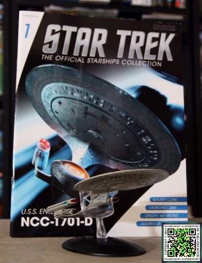 Star Trek Starship Collection Magazine Issue 01