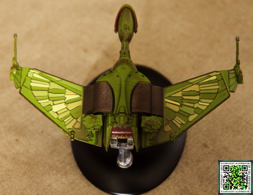 Star Trek Starship Collection Magazine Klingon Bird of Prey 03