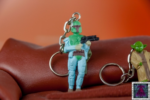 Star Wars Mystery Egg Boba Fett Key Chain