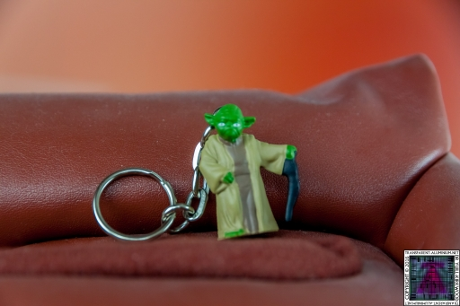 Star Wars Mystery Eggs Yoda Key Chain