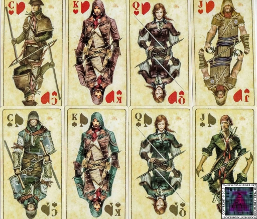 Assassins Creed Unity Guillotine Edition Playing Cards