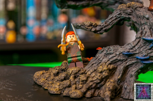 LEGO The Hobbit The Desolation of Smaug Tauriel statue Limited Edition from Weta