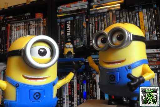 Meet the Minions Steve and Dave