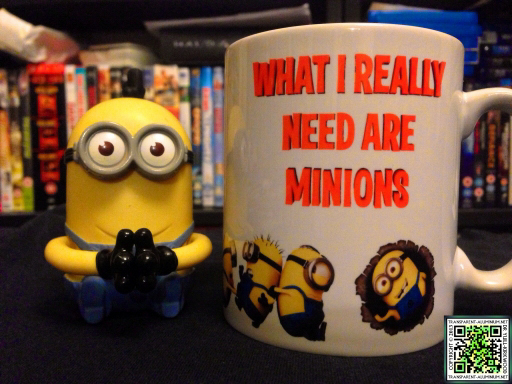 The Minions and my new Mug