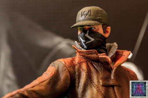 Watch Dogs Dedsec Edition Aiden Pierce Figurine