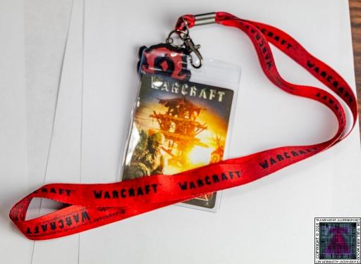 Warcraft Horde Lanyard
