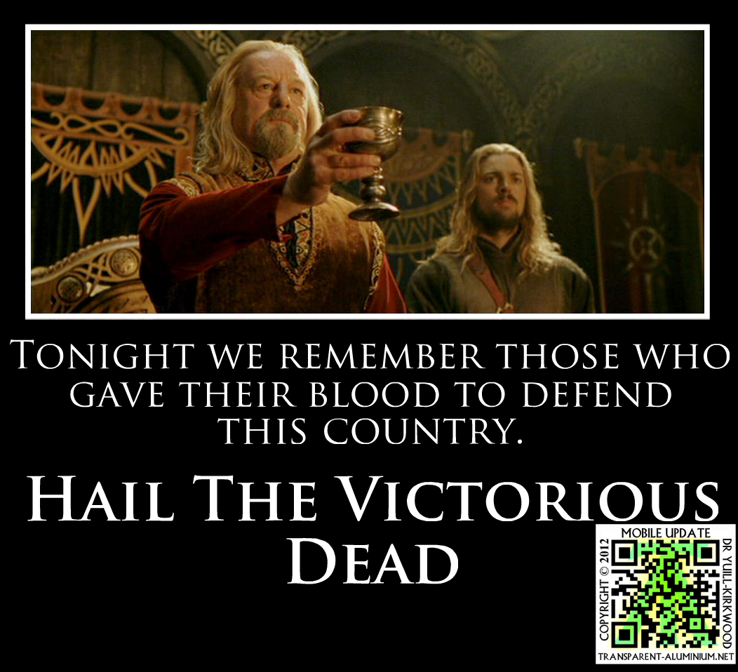 Hail The Victorious Dead