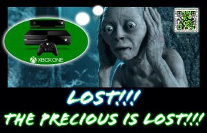 XBOX ONE Gollum The Precious is Lost