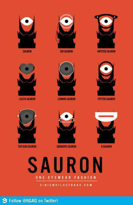 Sauron One Eyewear Fashion