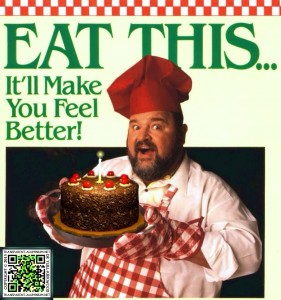 Dom Deluise - Eat This... It'll Make You Feel Better! Portal Cake Style.