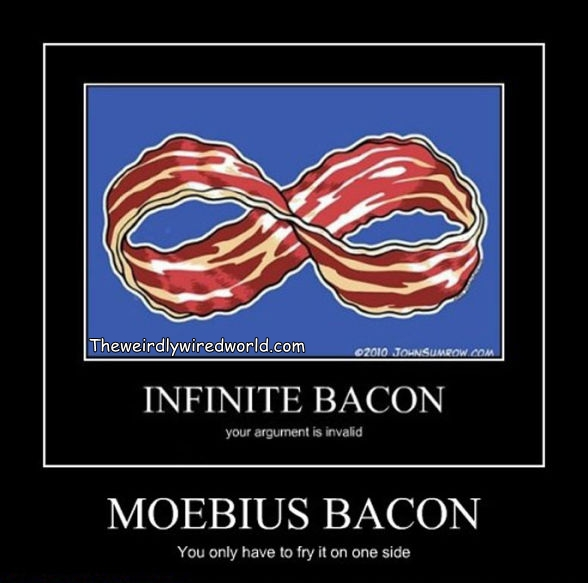Infinite Moebius Bacon