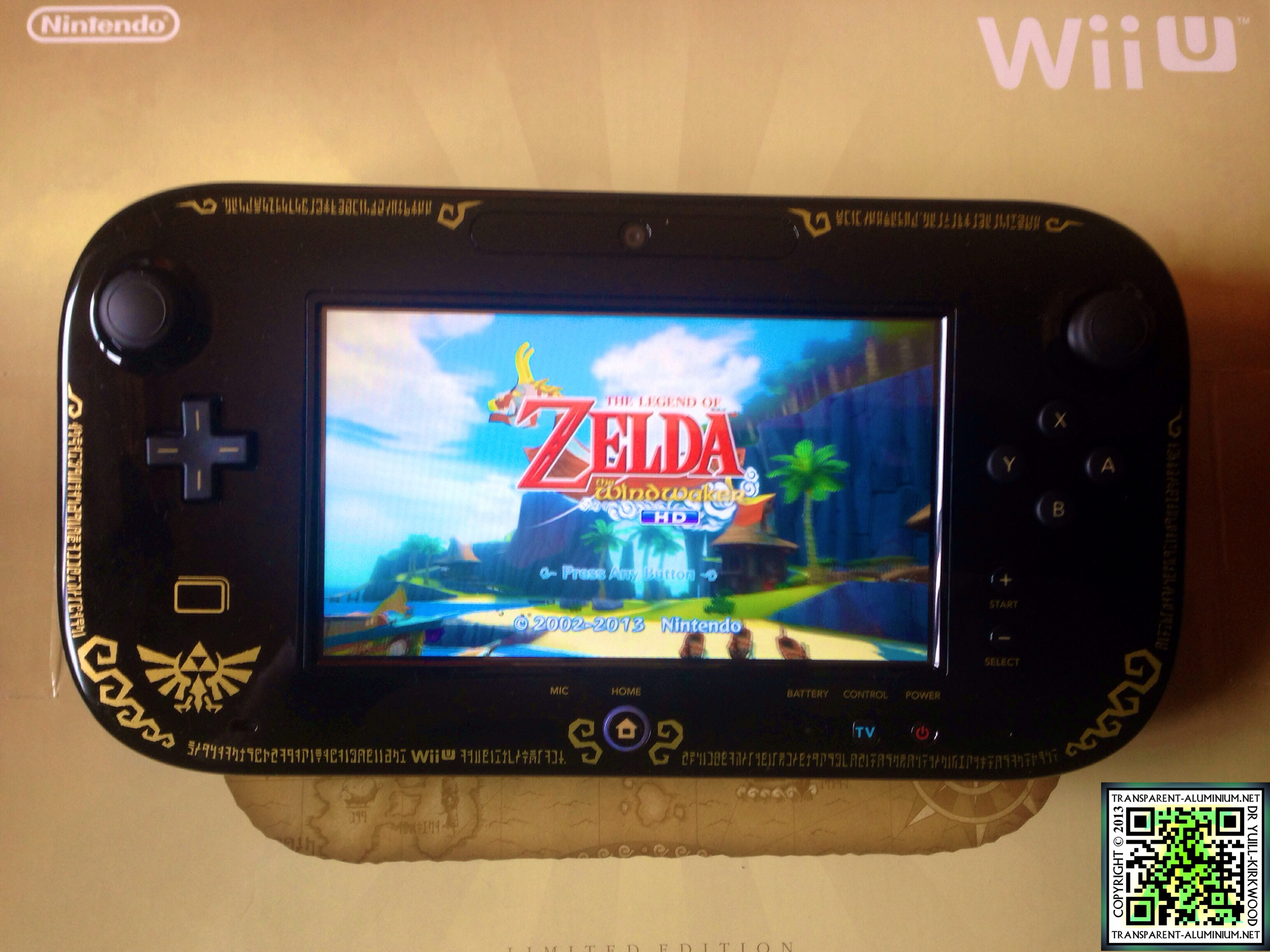 Wii U The Legend Of Zelda The Wind Waker Hd Edition