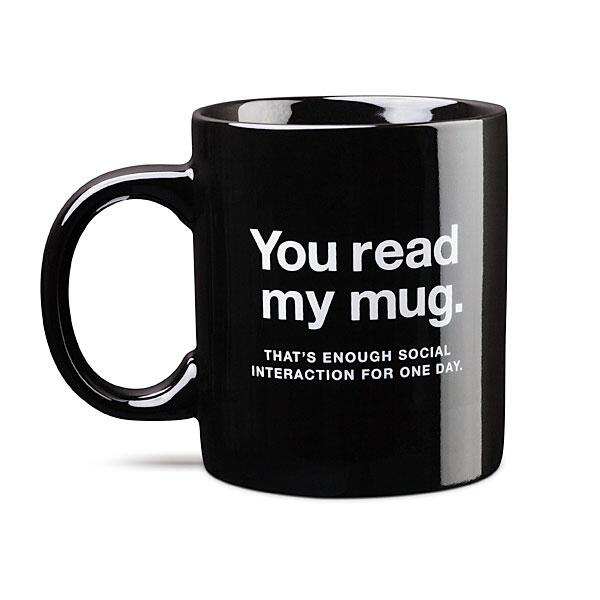 You Read My mug
