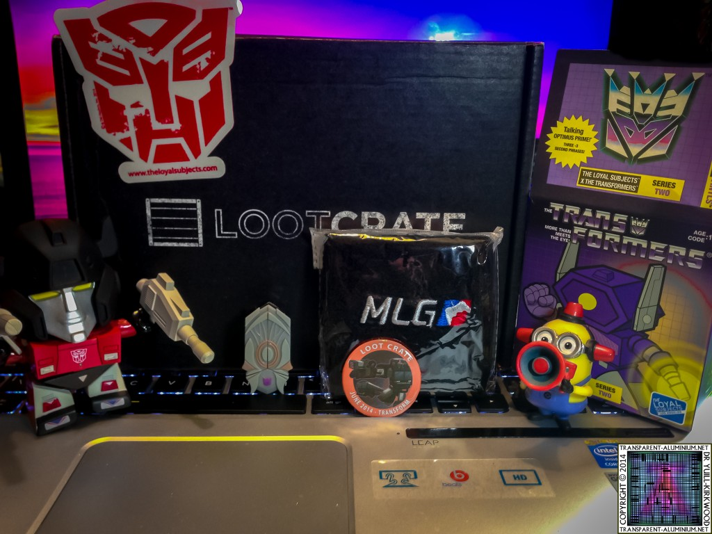 Loot Crate - June 2014 Transformers