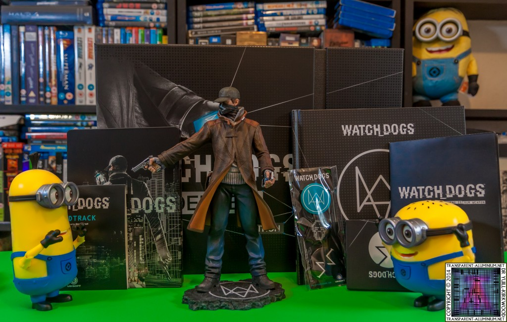Watch Dogs Dedsec Edition Aiden Pearce Shooting Minion