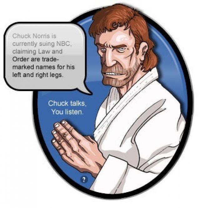 Chuck Norris Suing NBC