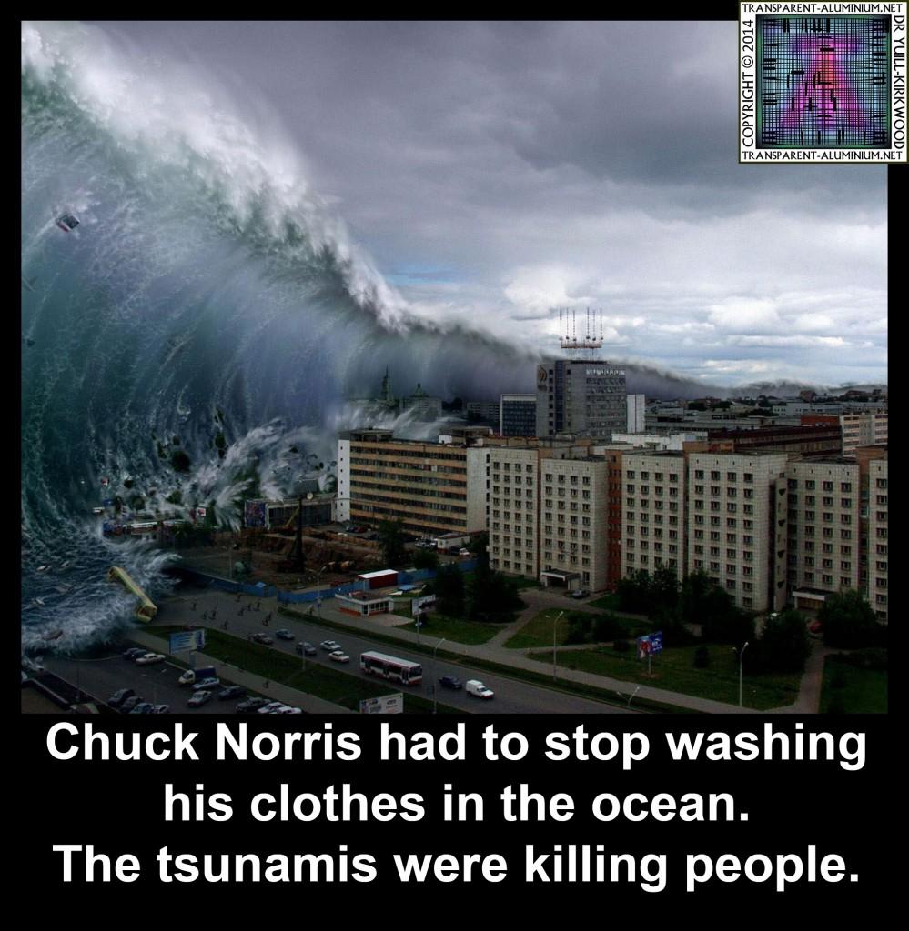 Chuck Norris Tsunamis