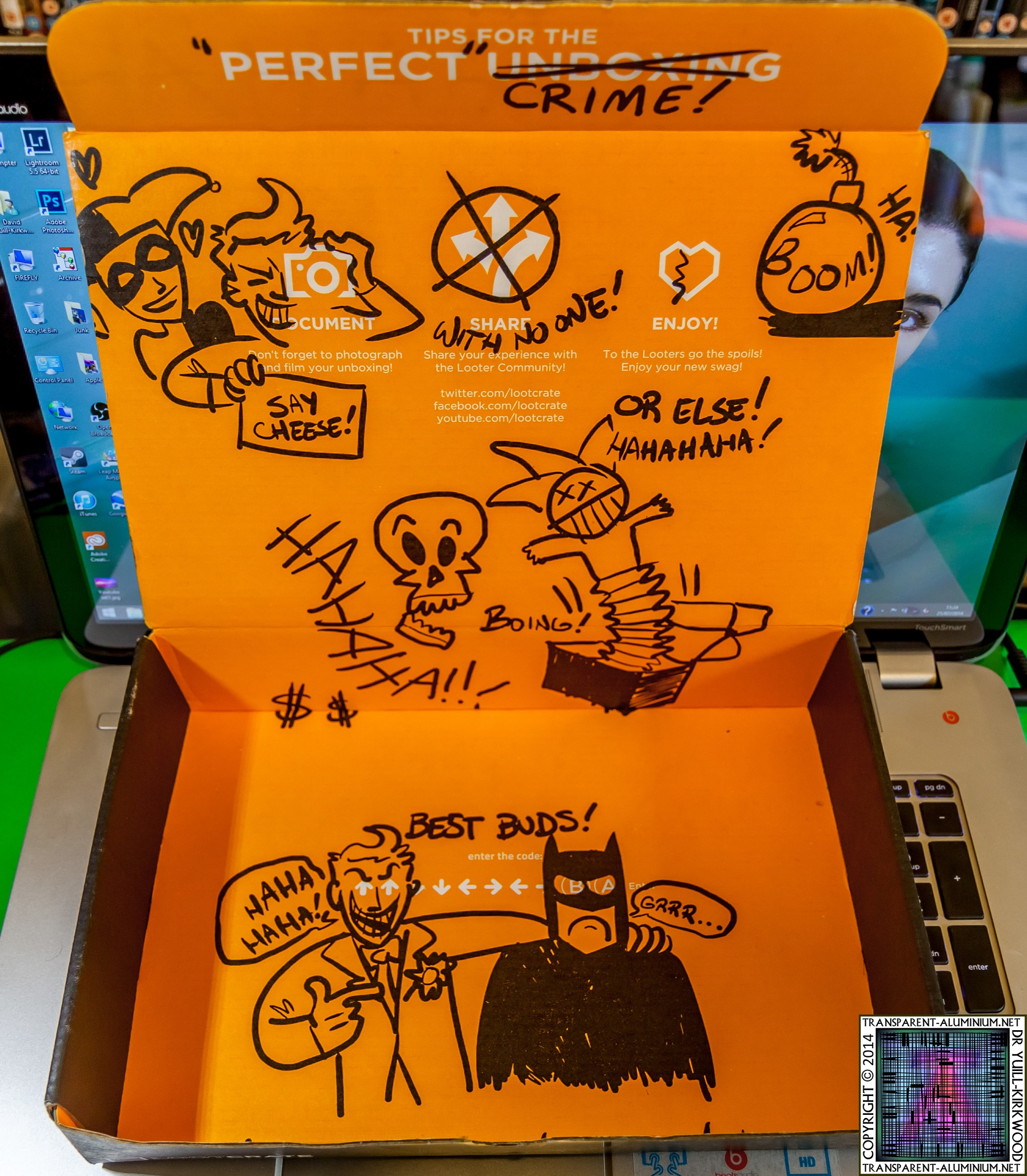 Loot Crate – July 2014 Villains