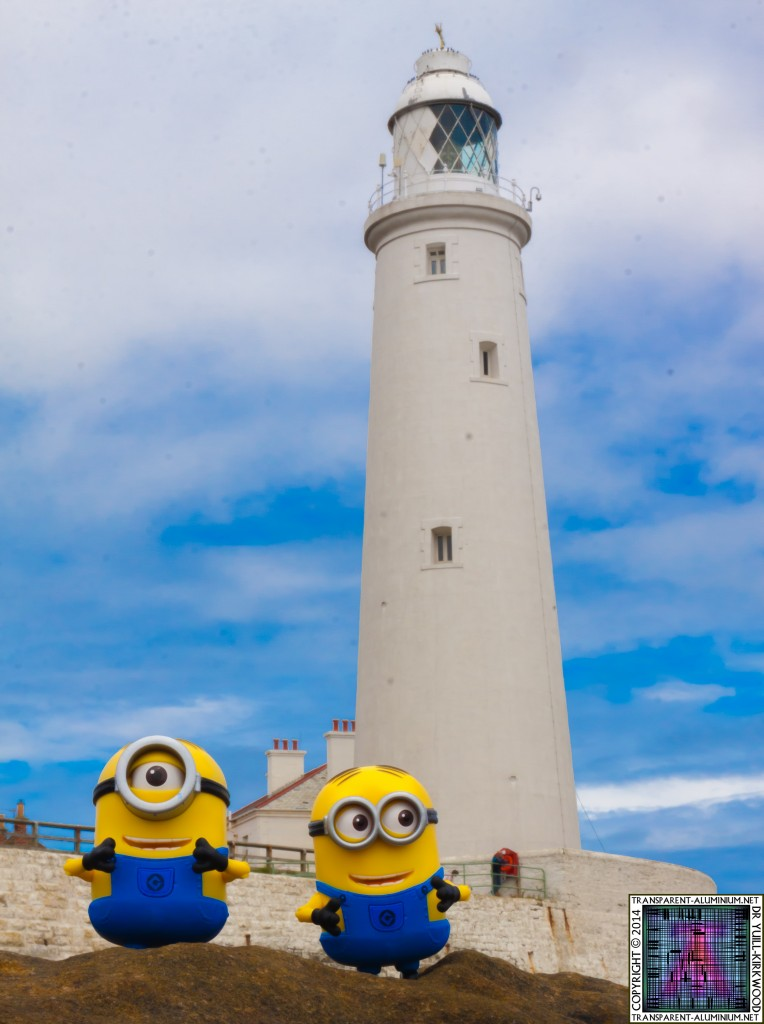 St Mary's lighthouse Minions