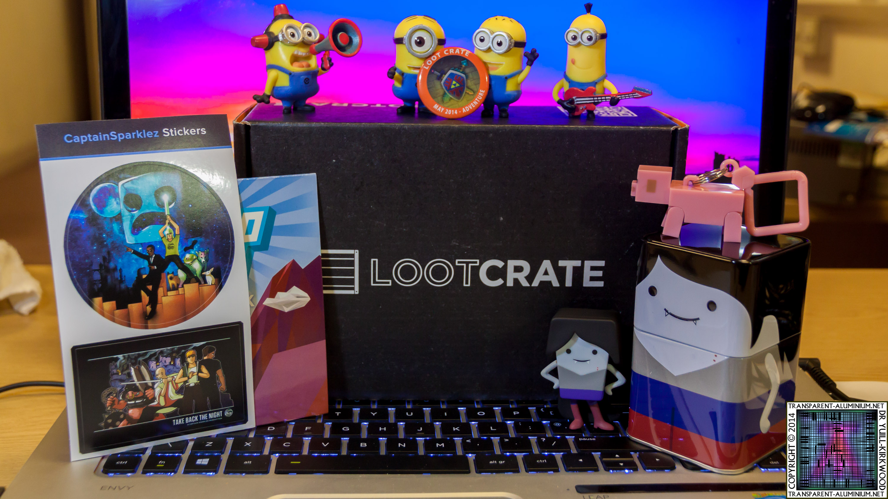 Loot Crate – May 2014 Adventure