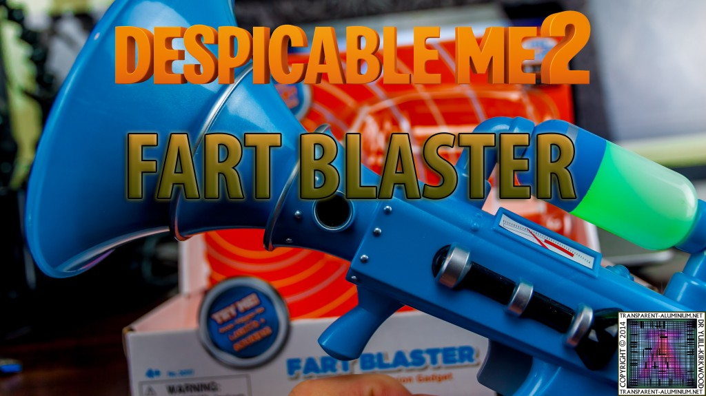 Despicable Me 2 - Fart Blaster Toy