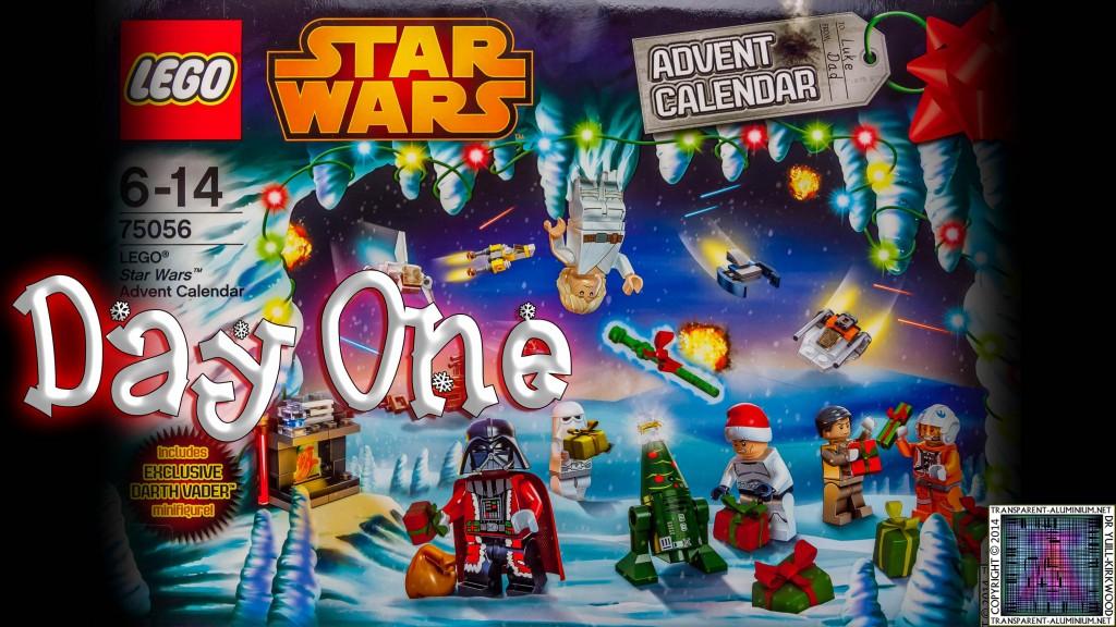 LEGO Star Wars Calendar Day (1)