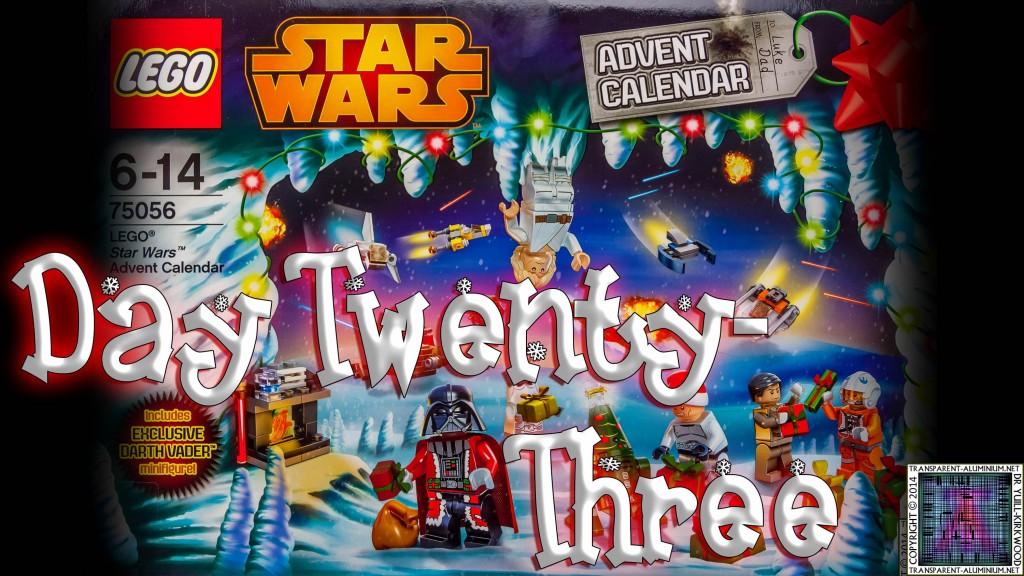 LEGO Star Wars Calendar Day (23)