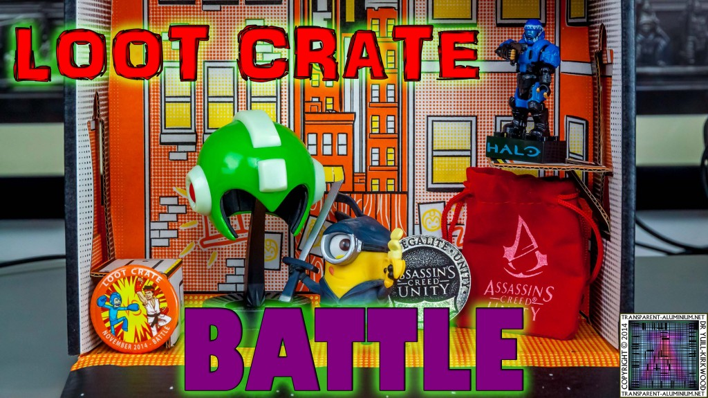 Loot Crate November 2014 Battle thumb